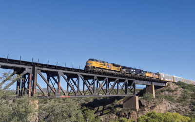 Fun and Free in Tucson: Ciénega Train Bridge