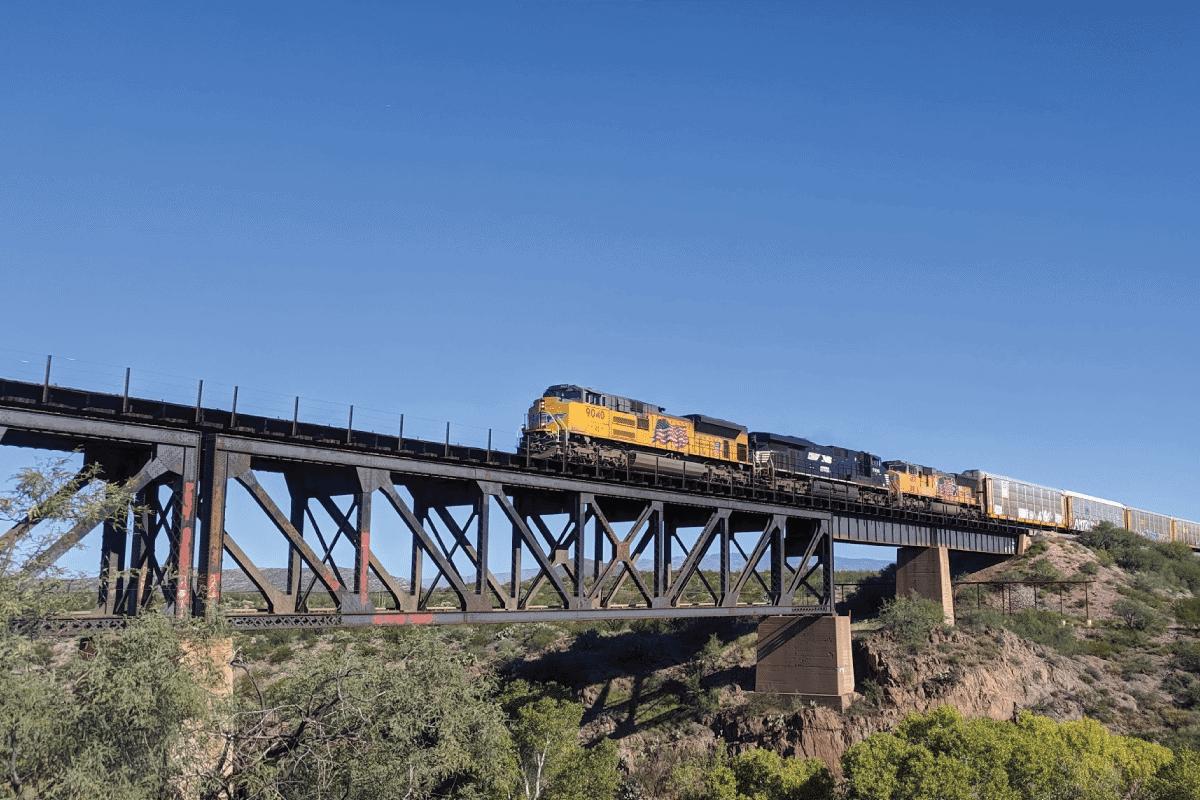 fun and free in tucson cienega train bridge
